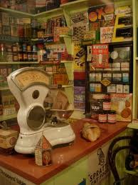 An Old Shop With a Weighing Scales For Sweeties